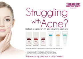 Therapeutic Dermatologic Formula Oily and Acne Prone Skin Series